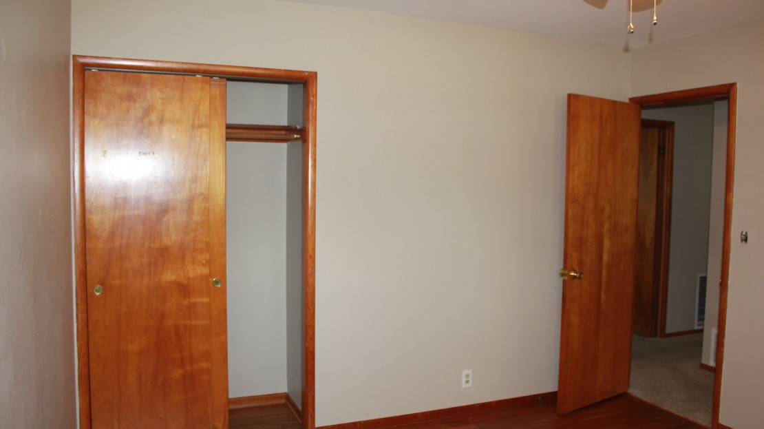 Updated Bedroom in Rental Home in Independence Iowa